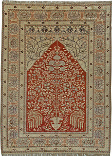 An Antique Turkish Silk Rug BB5477