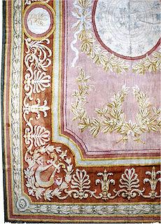 A Spanish Savonnerie rug