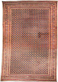 An Indian rug BB3137