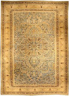 A Persian Khorassan carpet