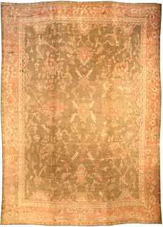 A Turkish Oushak carpet BB2120