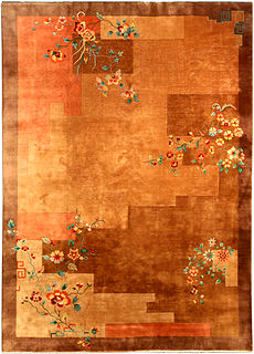 A Chinese Art Deco carpet BB4123