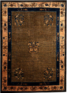 A Chinese Deco rug BB4022