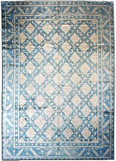A Chinese Deco rug BB1642