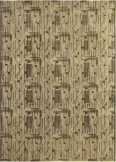 An Art Deco Rug BB5260