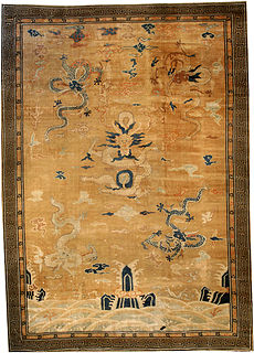 A Chinese Deco Rug BB2353