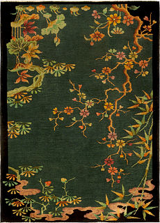 A Chinese Deco Rug BB4932