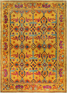 A Chinese Art Deco rug BB4602