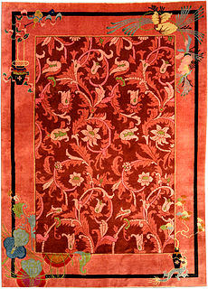 A Chinese Art Deco carpet BB4169