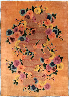 A Chinese Deco rug BB4281