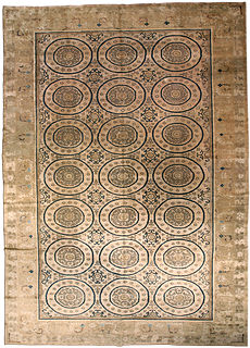 A Chinese Deco carpet BB2202
