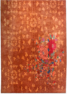 A Chinese Deco rug BB3350