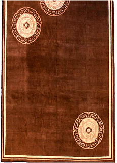 A Chinese Deco rug BB2910