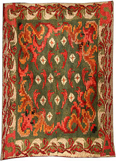 A French fragment rug BB4061