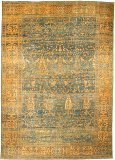 A Persian Kirman carpet BB3700