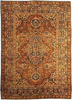 A Persian Tabriz carpet BB4125