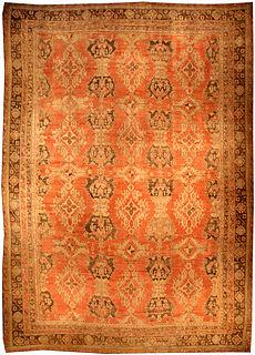 A Turkish Oushak rug BB3246