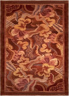 A French Deco Rug by Paul Follot BB5243
