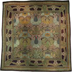 An Arts & Craft Voysey carpet BB4307