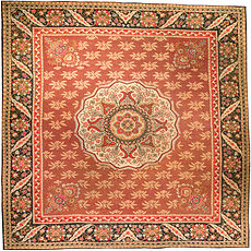 An Aubusson rug BB1219