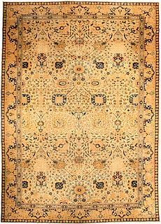 An Indian rug BB3131