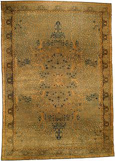 An Indian rug BB4338