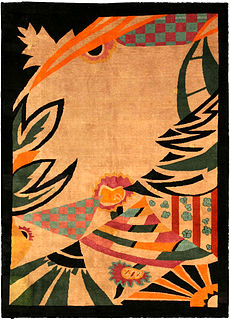 A Chinese Art Deco carpet BB4017