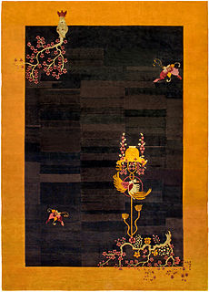 A Chinese Deco Rug BB4822