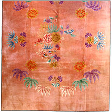 A Chinese Deco carpet BB3282