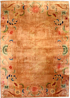 A Chinese Deco carpet BB3829