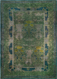 Voysey Rug ( size adjusted) BB5156