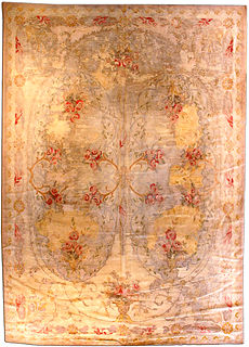 A European Hooked rug BB2836
