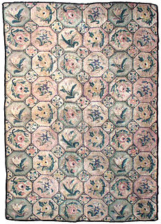 An American Hooked rug BB1904