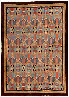 A French Art Deco rug BB4731