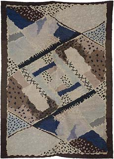 A French Deco Rug by Jean Bukhalter for D.I.M. BB5374