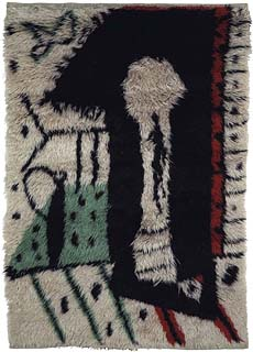 """A French Rug by Picasso """"La Serrure"""" BB5376"""