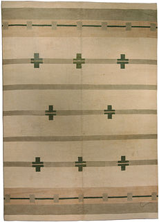 An Art Deco rug BB3505
