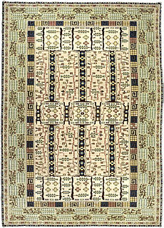 A Swedish Pile Rug by Marta Maas Fjetterstrom BB3450