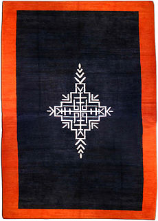 A French Deco rug BB3570