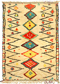 A Moroccan Rug BB5144