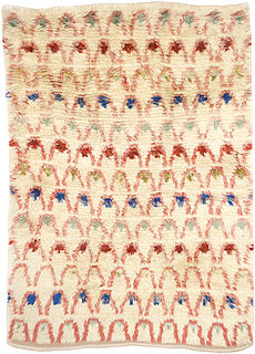 A Swedish Pile Rya Rug by Ingrid Hollman Knafve BB5307