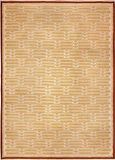 A Swedish Flat Woven rug (Sverige Rolakan)