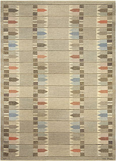 A Swedish Rug by Kertin Butler BB5097