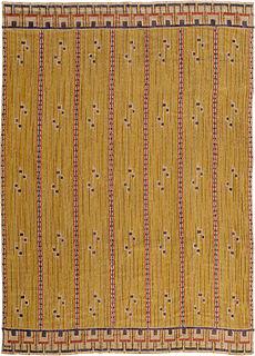 """A Swedish Tapestry """"Gult draperi"""" by Marta Maas-Fjetterstrom BB5386"""
