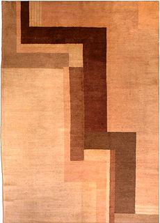 An Art Deco rug BB3019