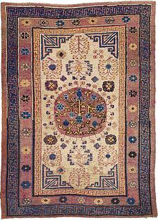 A Samarkand (Khotan) rug BB4393