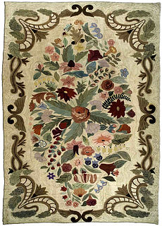 An American Hooked rug BB1390