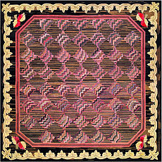 A European Hooked rug BB2903