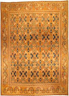 A Spanish Quenca rug BB4426
