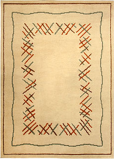 A French Art Deco Rug BB4917
